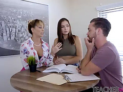 Blair williams three-some