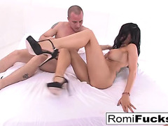 Hardcore gonzo sex romi rain and large dong jessy