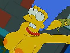 Marge simpson violada
