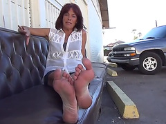 52 yo broad candid ribald feet