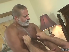 2 white bearded daddy&#39s love