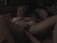 Wife masturbates during the time that ally eats her wet crack