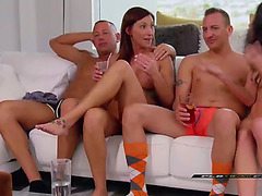 American couples receive a 2 days pass in a reality show to play and explore fresh raunchy adventures