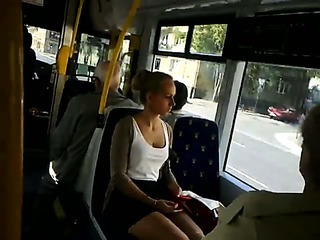 Porn Tube of Mini Skirt Public Cam And Cum!!!