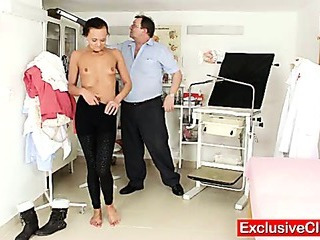 Porno Video of Bizarre Gyn Doctor Checks Hot Leggy Babe