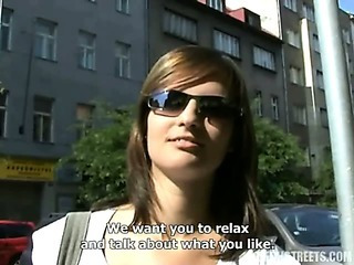 Sex Movie of Czech Streets - Romana