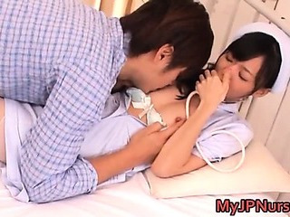 Porno Video of Aino Kishi Japanese Nurse Shows Off Her