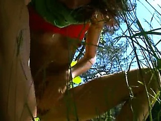 Porn Tube of Natasha Peeing In The Forest