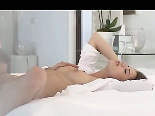 Sex Movie of Very Sexy Czech Brunet Fucking Hard