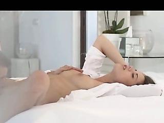 Porno Video of Very Sexy Czech Brunet Fucking Hard