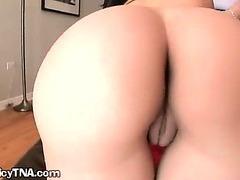 Juicy Booty Hoe Spreads Pussy Open
