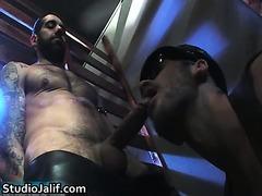 Tony Duque and Aitor Crash gay hardcore