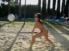 Hot Babes Doing Stuff Naked - Volleyball