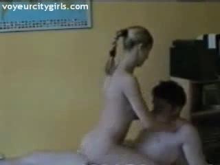 Porno Video of No Sound: Horny College Couple Fuck Wild