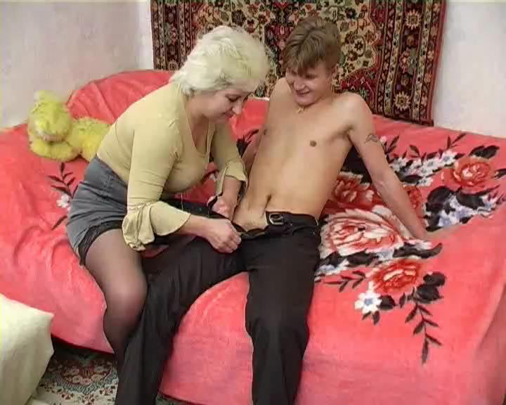Young Guy Creampie Granny