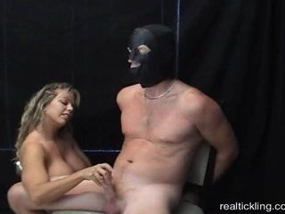Porno Video of Amber Bach Femdom Handjob