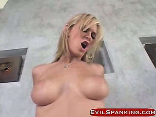 Porno Video of Blonde Slut Gets Fucked And Hand Spanked