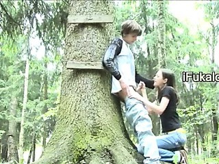 Porno Video of Public Sucking Dick In The Forest