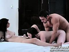Brunette Bitches Threesome