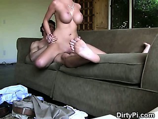 Sex Movie of Blonde Cheater Riding Cock Like A Cowgirl On Hidden Camera