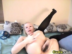 Flexible Gorgeous Blond Babe HD