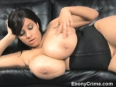 Sloppy Titty Black Slut Pounded Out Good And Rough