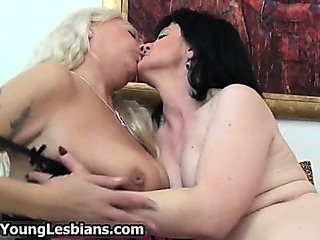Porn Tube of Two Horny Mature Wifes Sharing