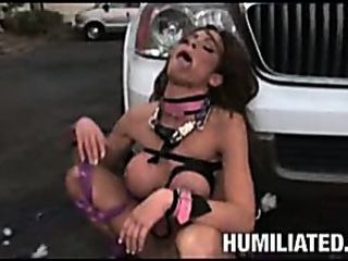 Porn Tube of Hot Milf Tied Up For Sex Till She Squirts