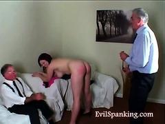 Lusty Teen Ass Beating