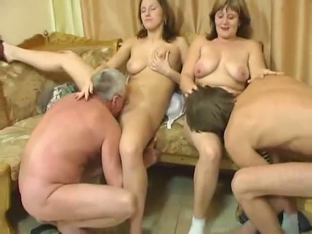 This Family Fucks Together In A Wild Foursome Sex Clip Watch Online For Free