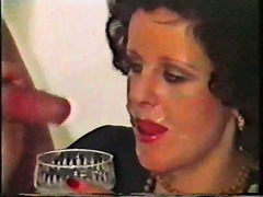 Vintage facial cumshots compilation video