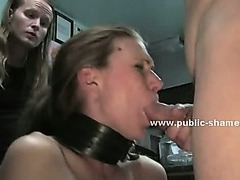Perverts in public library take lady and fuck her in group fetish sex and brutal deepthroat video