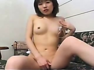 Porno Video of Japanese Girl In Socks Masturbating