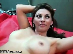 A Sexy Hot Mama Gets Cum Shots On Her Pussy