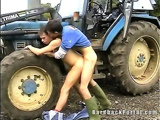 Porno Video of Barebacking Farmers Boys
