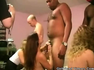 Porn Tube of Long Swingers Group Fuck