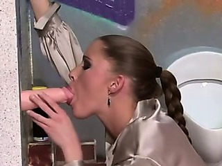 Porn Tube of Gloryhole Bukkake Slut Slime Showered