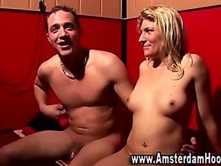 Porn Tube of Watch Blonde Whore Get A Cumshot