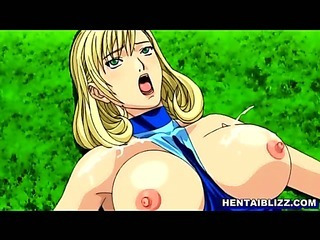 Sex Movie of Swimsuit Hentai With Bigtits Groupsex In The Outdoor