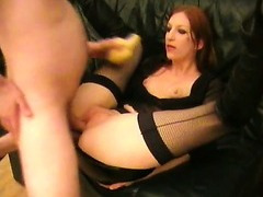 Sexy goth girl dressed as a witch and fucking