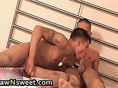 Hardcore gay cock sucking