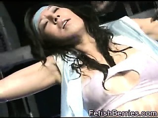 Sex Movie of Tentacles Cover Her Face In Cum!