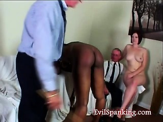 Porn Tube of Spanking Slapping And Caning That Hurts