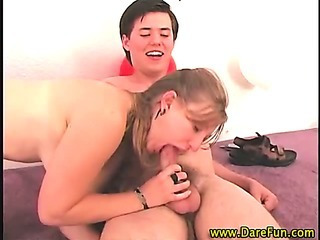 Porn Tube of Bisexual Real Teen Gets Sucked Off