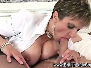Porno Video of Mature British Slut In Stockings