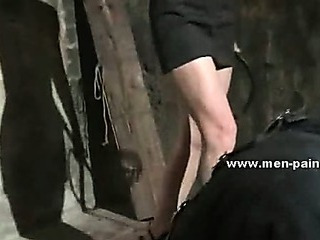 Porno Video of Sadomaso Mistress In Short Robe Using Cellar And Alive Sex Toy To Please Her Sick Wild Fantasies