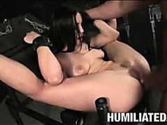 Fucked and vibrated till she squirts