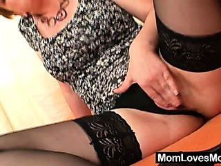 Porn Tube of Amateur Milf Lora With Big Natural Tits And Dildo