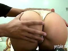 Diana Prince sucks off a thick dick before her ass is stretched by it
