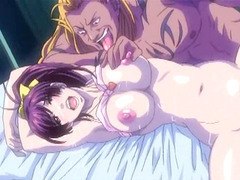 Caught and bigboobed hentai nurse brutally fucked  by ghetto anime